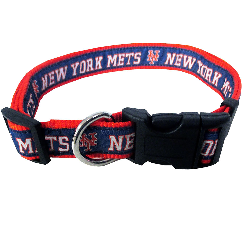 New York Mets Collar - Ribbon (Large)