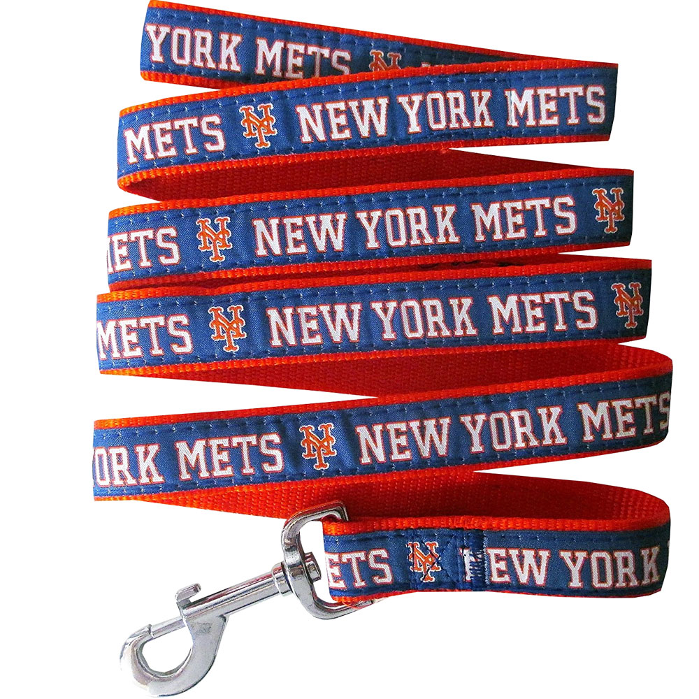 New York Mets Dog Leash - Ribbon