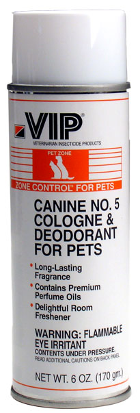 No. 5 Cologne Deodorant Aerosol for Pets (6 oz)