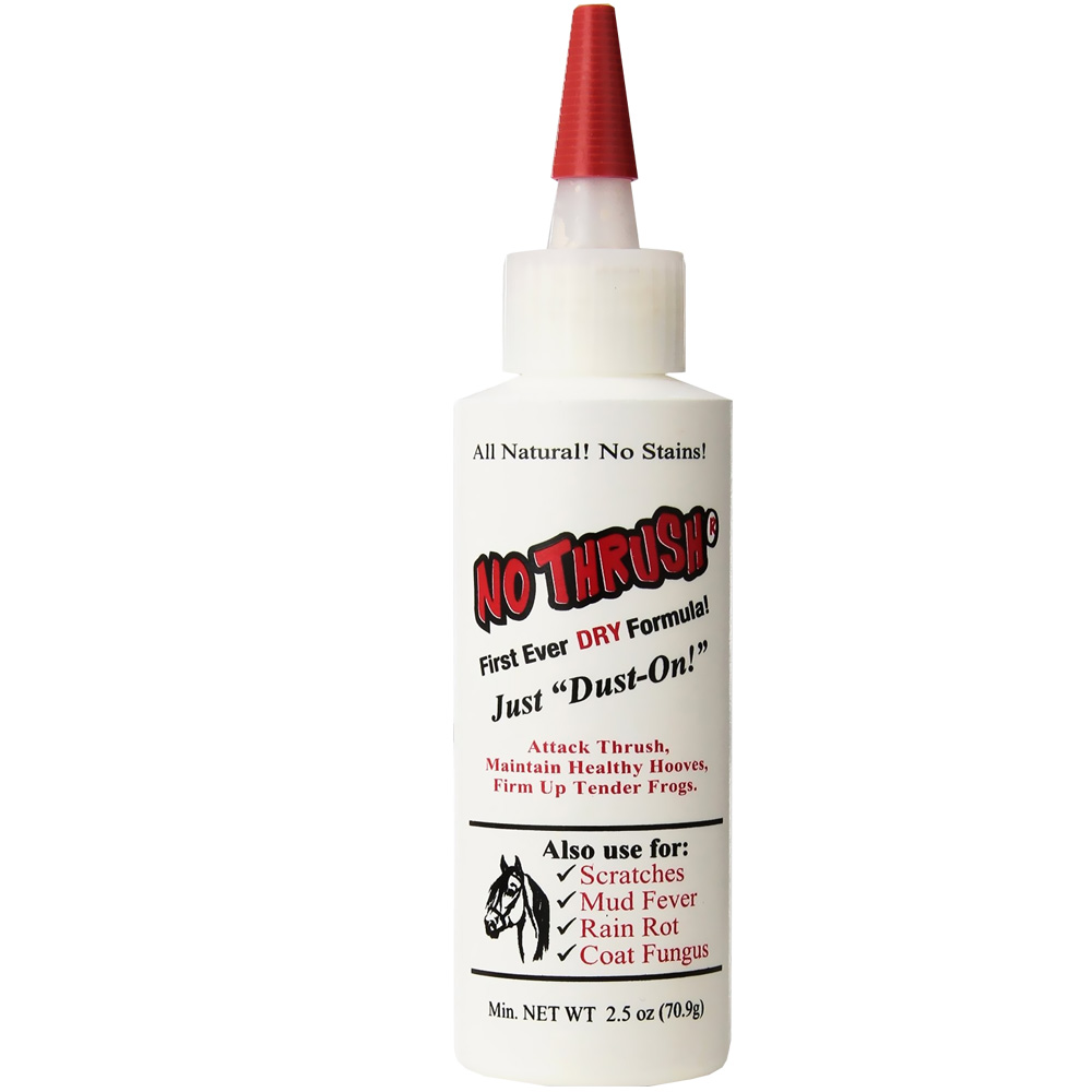 No Thrush Dry Formula for Horses (2.5 oz)