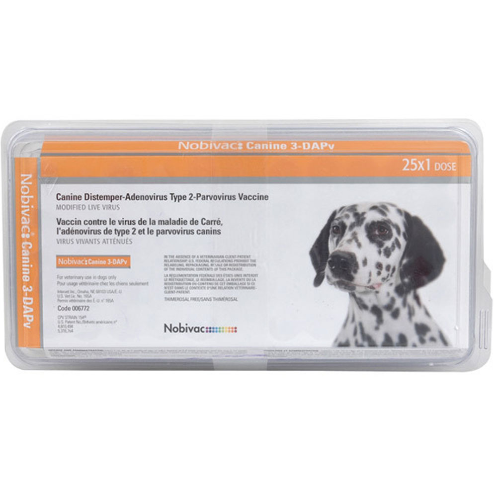 Nobivak for dogs. Recommendations for vaccination of dogs 7