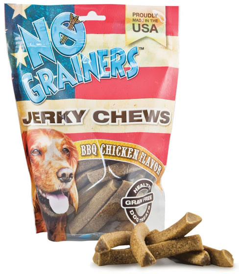Nootie No Grainers Jerky Chews - Barbecue Chicken (16 oz)
