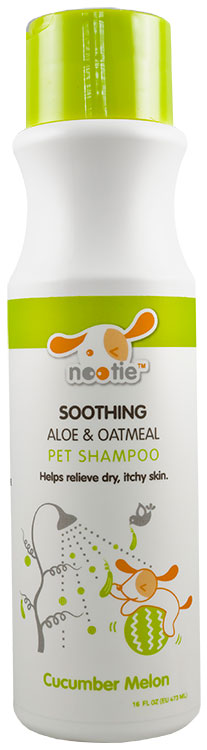 Nootie Soothing Aloe & Oatmeal Shampoo - Cucumber Melon (16 oz)