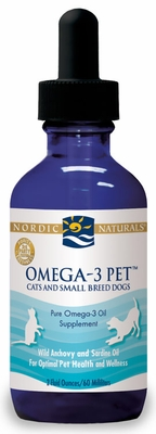 Nordic naturals omega 3 pet 2 oz for Nordic naturals fish oil for dogs