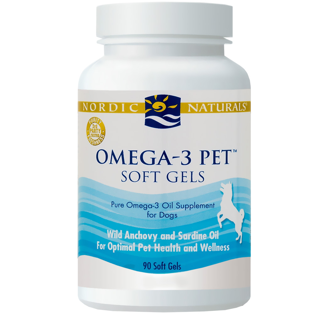 Nordic naturals omega 3 pet 90 ct for Omega 3 fish oil for dogs