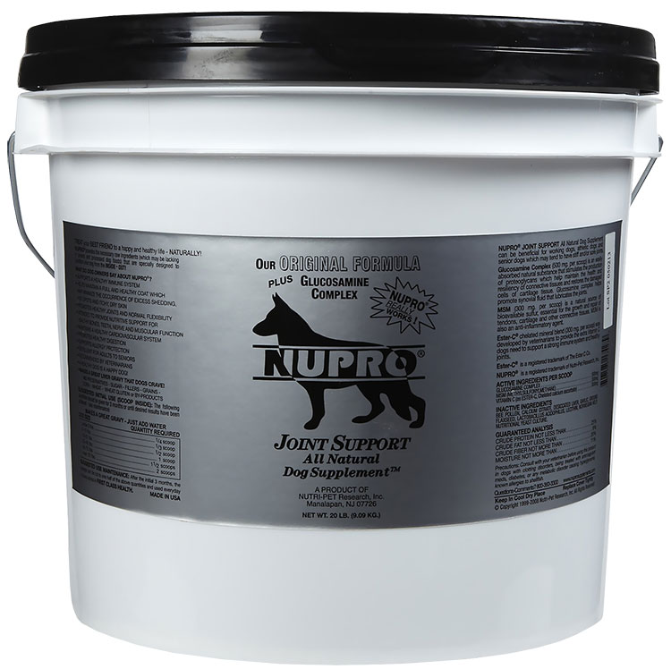 Natural Hip And Joint Supplements For Dogs