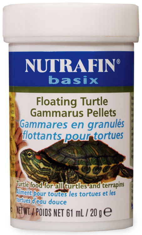 Nutrafin Basix Floating Turtle Gammarus Pellets (0.7 oz)