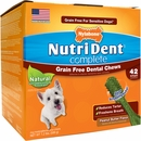 Nutri Dent Grain Free Dental Chew Peanut Butter - Small (42 count)