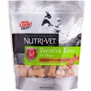 Nutri-Vet Breath & Tartar - Chicken Flavor Biscuits (19.5 oz)