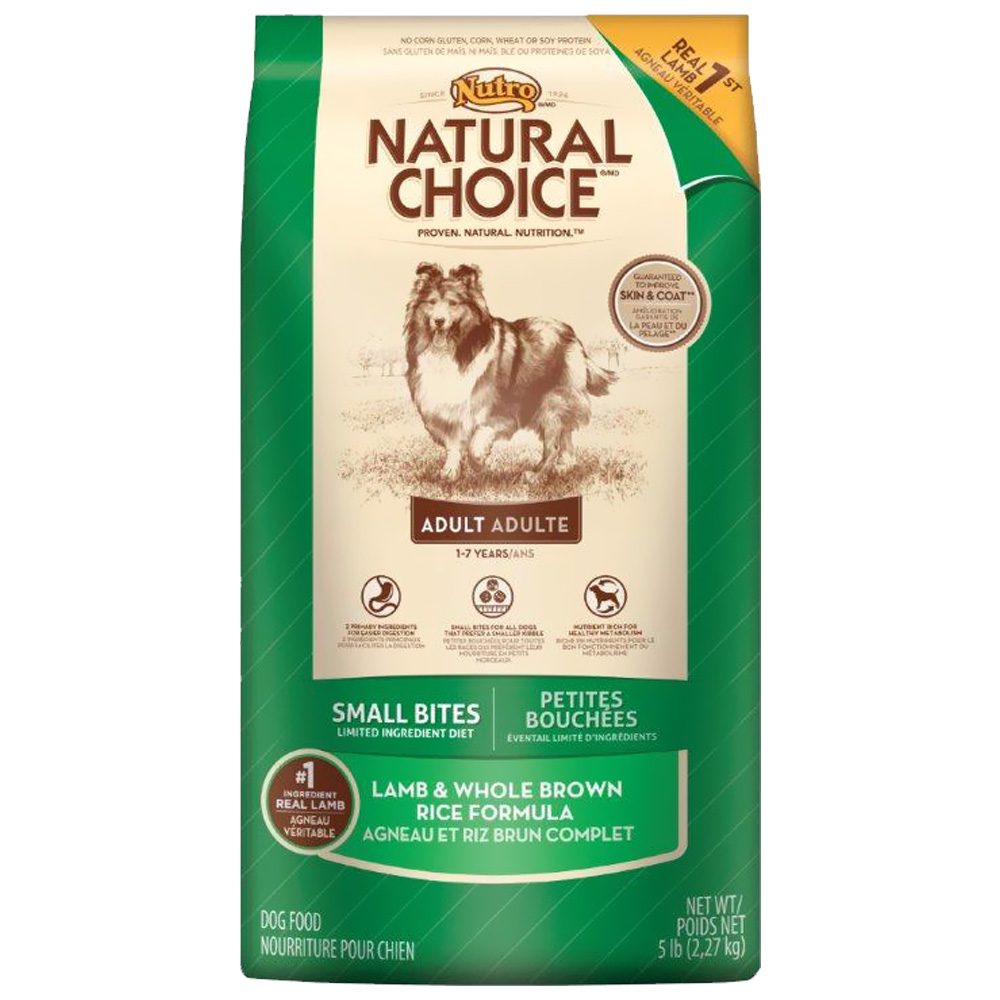 Nutro Natural Choice Lamb And Rice Small Bites Review