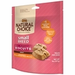 Nutro Natural Choice Small Breed Chicken & Whole Brown Rice Biscuit - Adult Dog (8 oz)