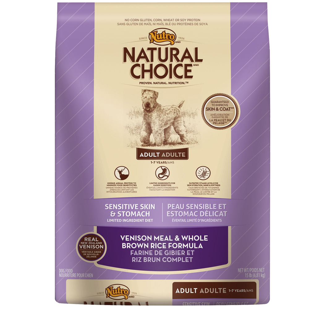 Natural Choice Venison Dog Food