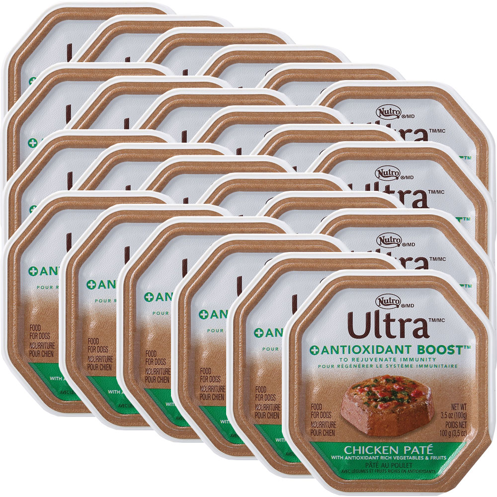 Nutro Ultra Antioxidant Chicken Canned Dog Food (24x3.5oz)
