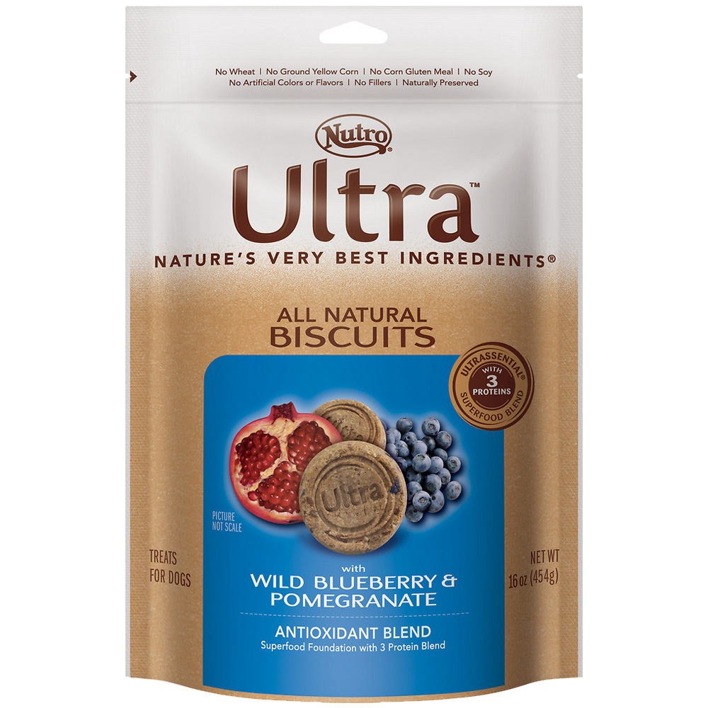 Nutro Ultra Berry & Pomegranate Dog Biscuits (16 oz)