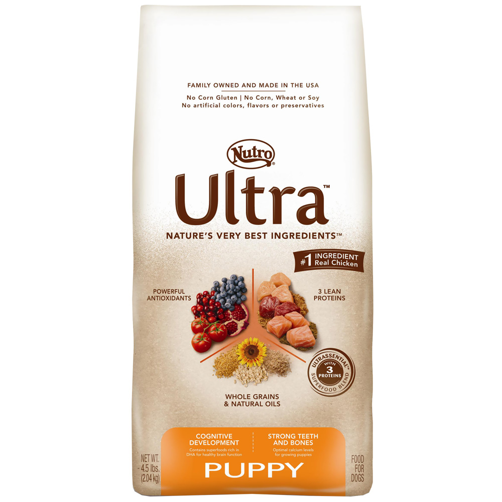 Nutro Ultra Dry Puppy Food (4.5 lb)