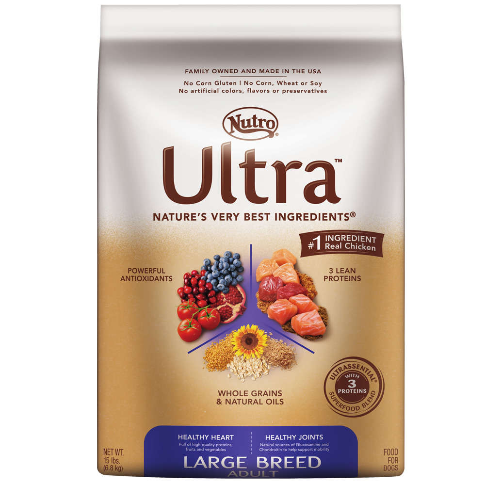 Nutro Ultra Large Breed Dry Dog Food (15 lb)