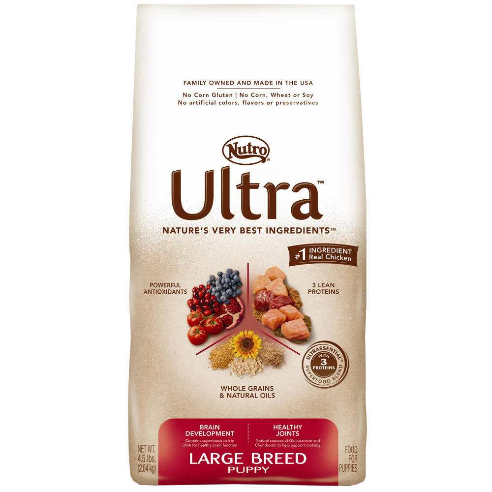 Nutro Ultra Large Breed Dry Puppy Food (4.5 lb)