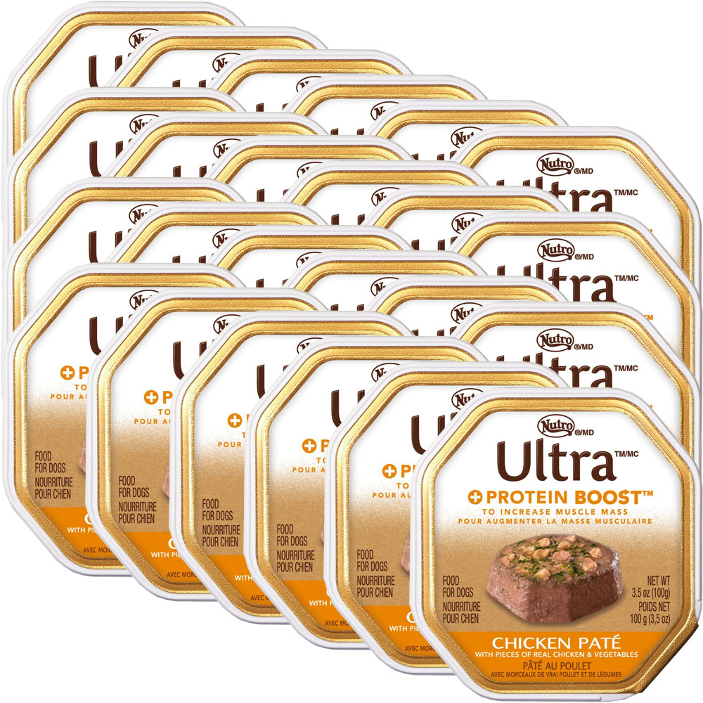 Nutro Ultra Protein Chicken Canned Dog Food (24x3.5oz)