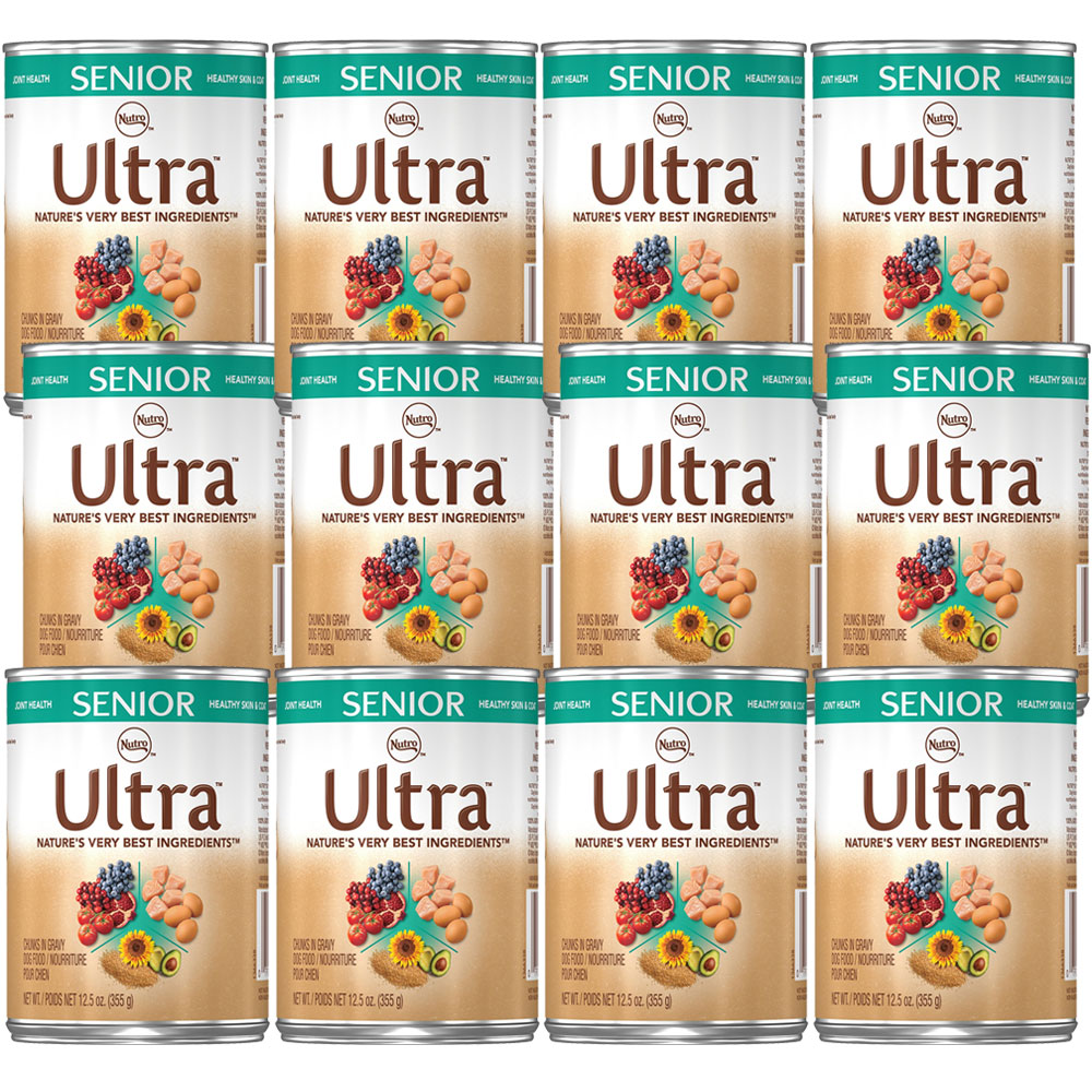 Nutro Ultra Senior Pate (12x12.5oz)