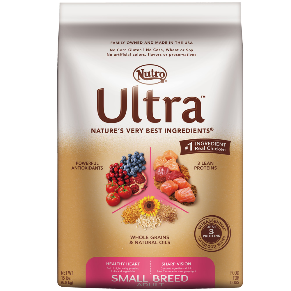 Nutro Ultra Small Breed Adult Dry Dog Food (15 lb)
