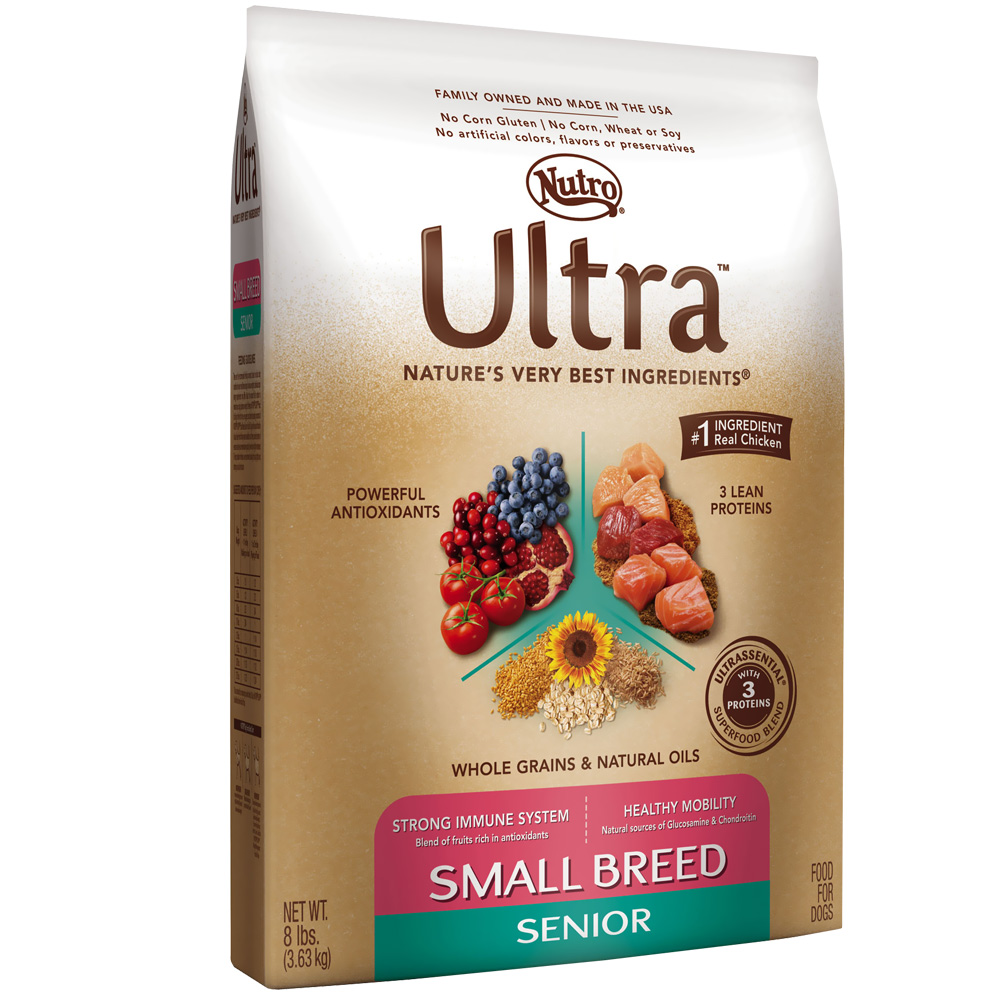 Nutro Dog Food Senior Sizes
