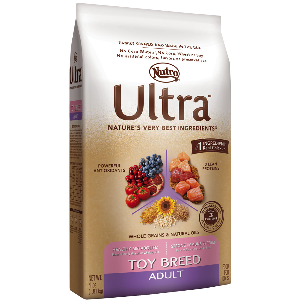 Nutro Ultra Toy Breed Adult Dog Food (4 lb)