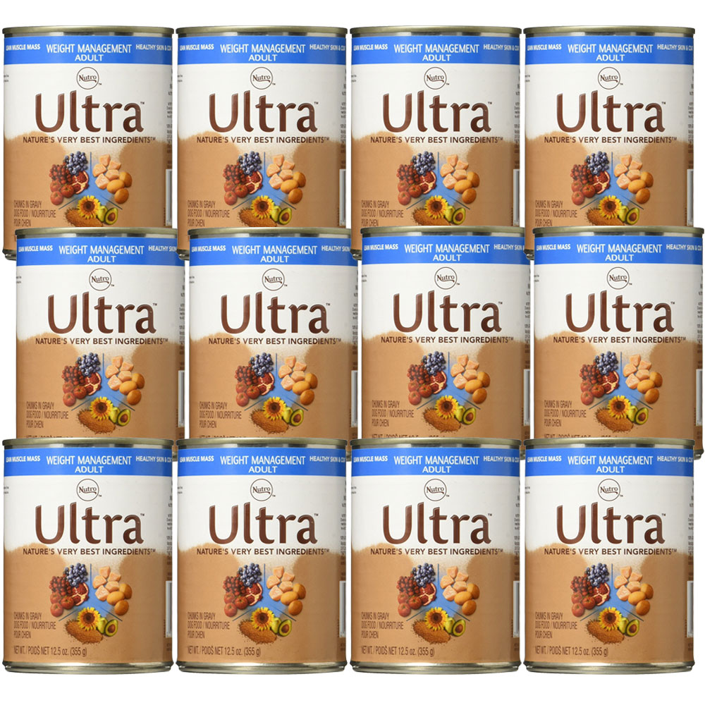Nutro Ultra Weight Management Canned Dog Food (12x12.5oz)