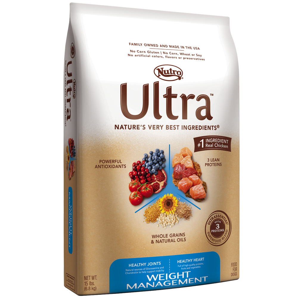 Nutro Ultra Weight Management Dry Dog Food (15 lb)