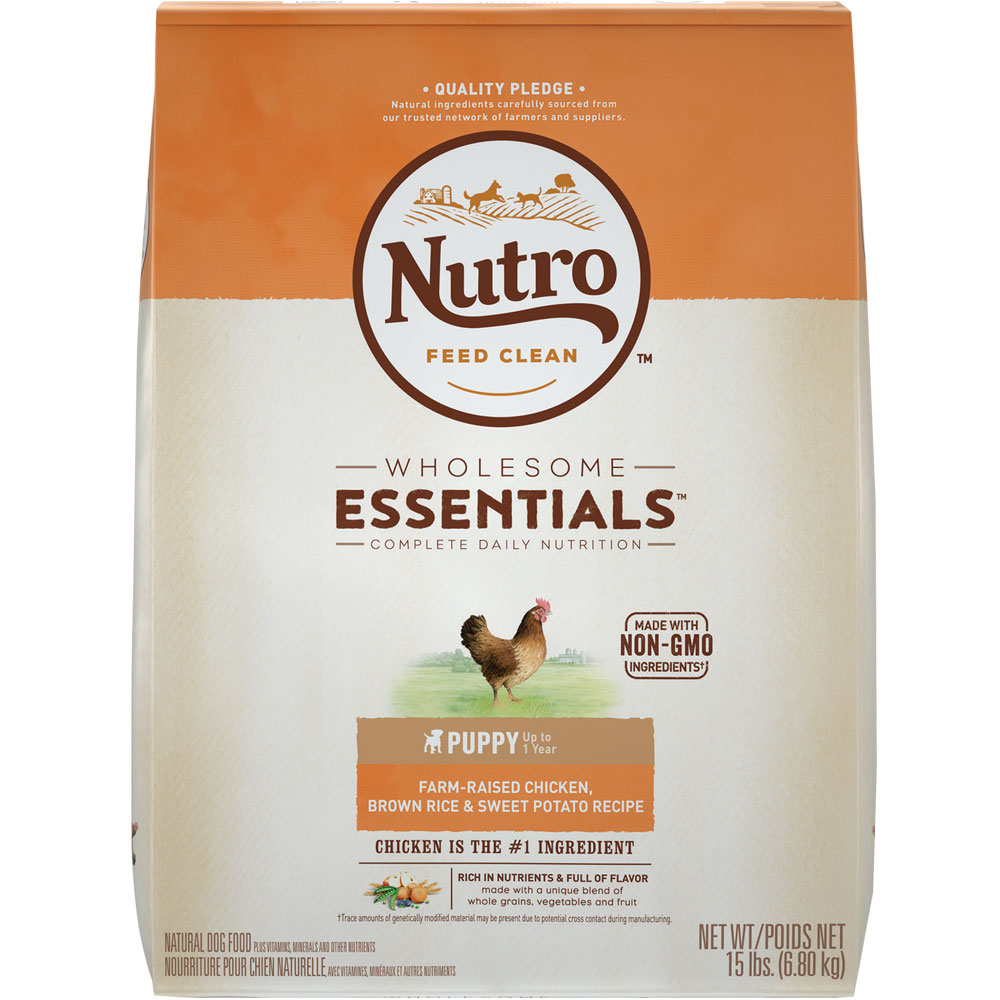 Nutro wholesome essentials puppy chicken whole brown rice sweet nutro natural choice chicken rice oatmeal puppy 15 forumfinder Images