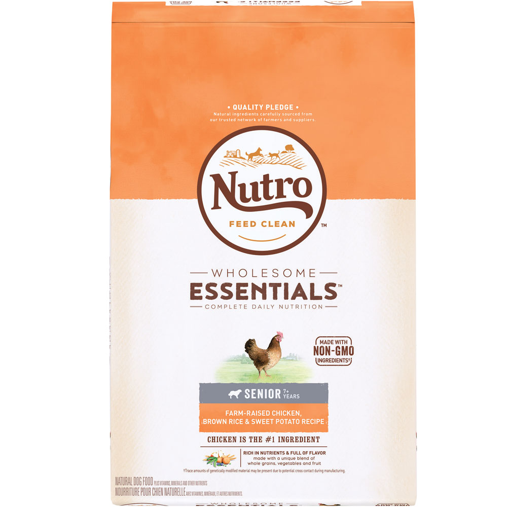 Nutro wholesome essentials senior chicken whole brown rice sweet nutro natural choice chicken rice oatmeal senior 5 forumfinder Images