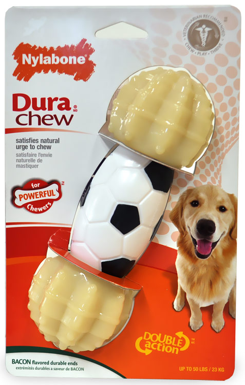 Nylabone Double Action Sports Chew - Soccer
