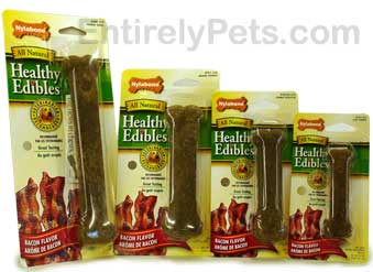 Nylabone Healthy Edibles Bacon Flavored Bones
