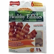 Nylabone Healthy Edibles Resealable Pouch -  Bacon Flavored (6 REGULAR/ 11.21 oz)