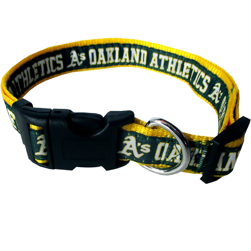 Oakland Athletics Collar - Ribbon (Small)