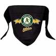 Oakland Athletics Dog Bandana - Large