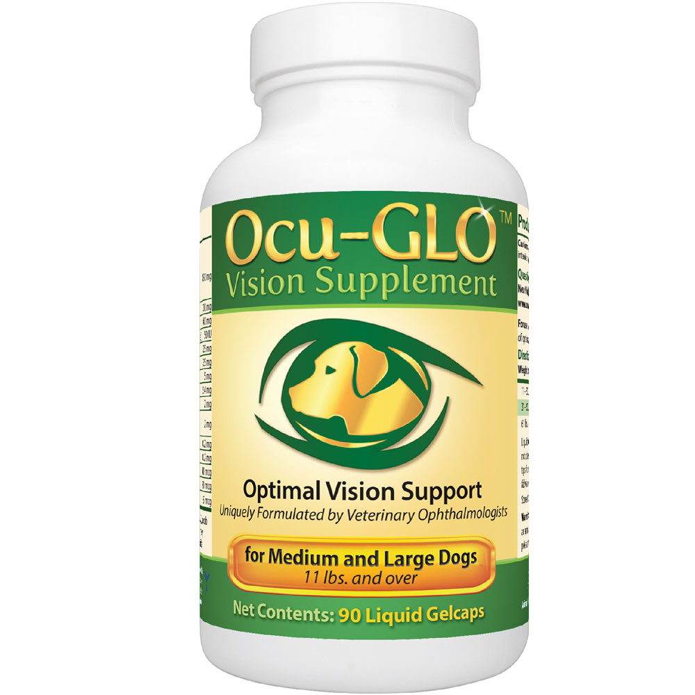 Ocu-GLO for MEDIUM to LARGE Dogs (90 Gelcaps)
