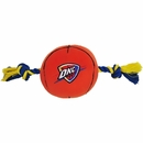 Oklahoma City Thunder Plush Dog Toy