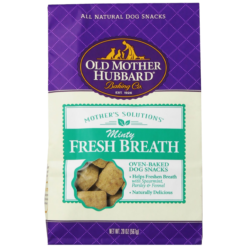 Old Mother Hubbard Minty Fresh Breath Biscuits