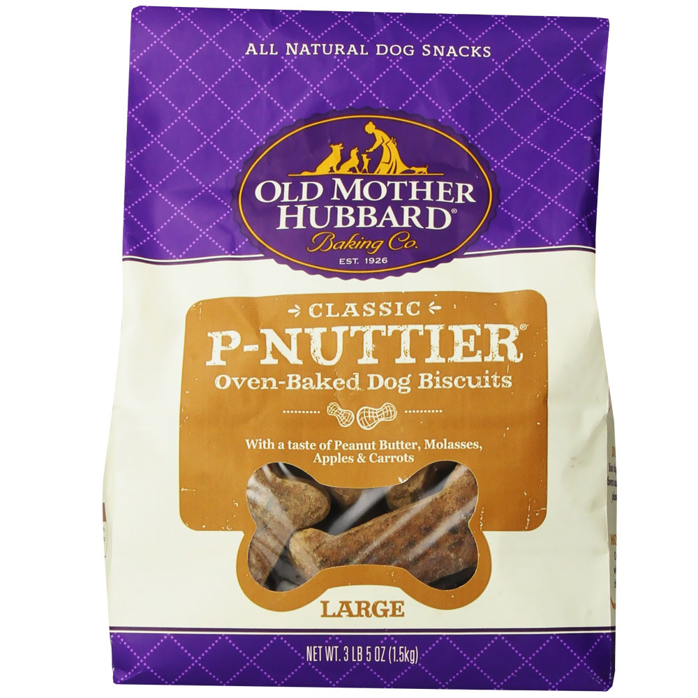 Old Mother Hubbard P-Nuttier Biscuits - Large (3.3 lbs)