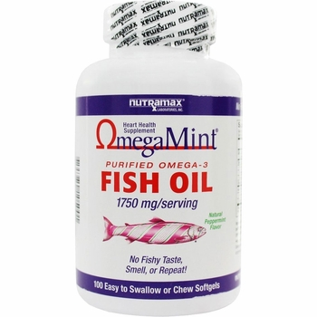 Omega mint 100 chewable softgels for Chewable fish oil