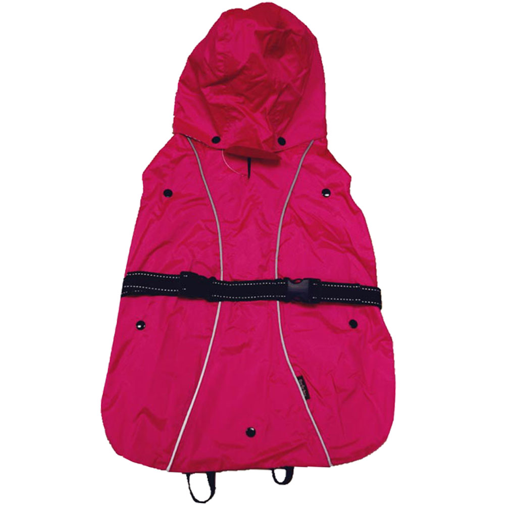 One For Pets All-Weather Dog Coat - Pink 14""