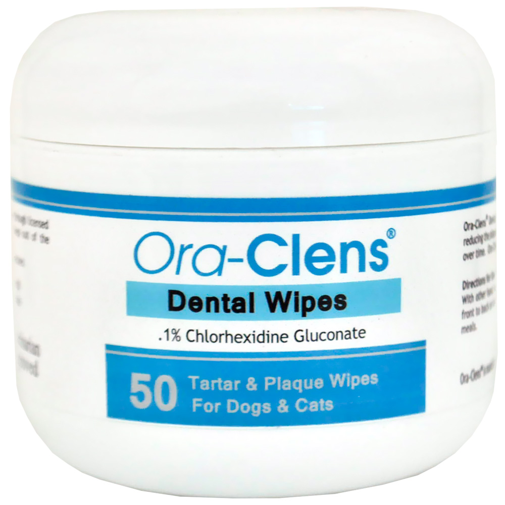 Ora-Clens Dental Wipes (50 Count)