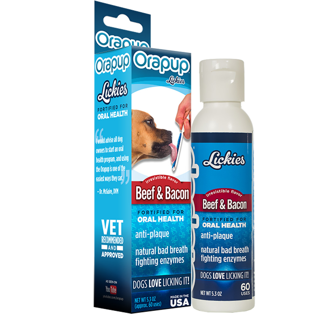 Orapup Lickies Beef & Bacon (5.3 oz)