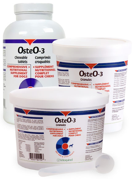 OsteO 3 Nutritional Supplement for Dogs and Cats