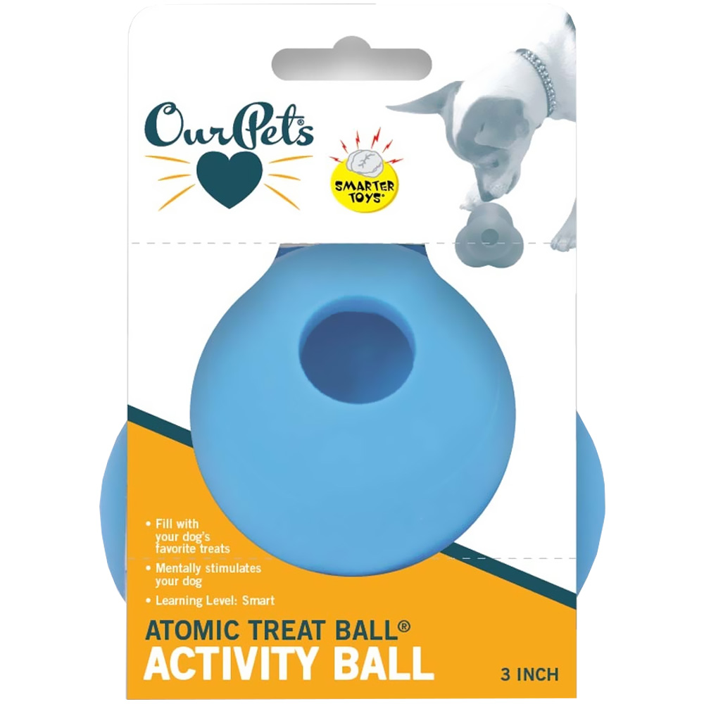 Ourpet Atomic Treat Ball - 3""