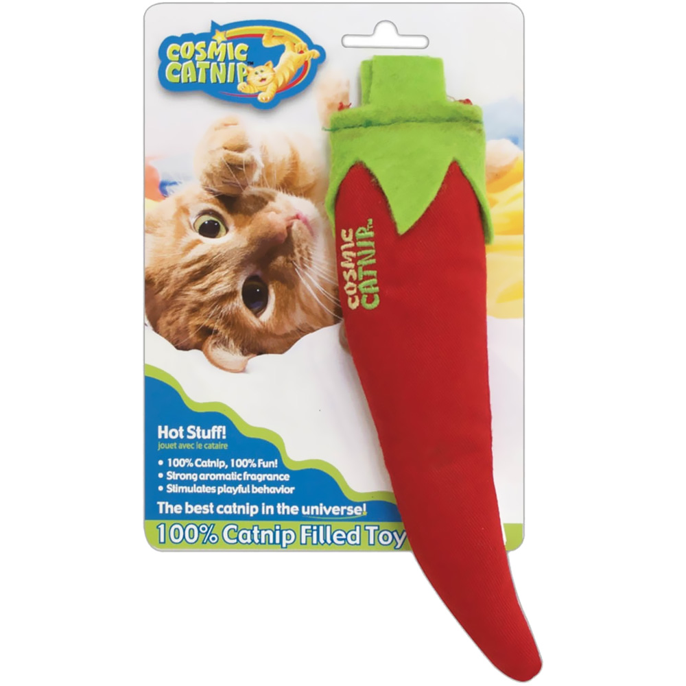 OurPets Cosmic Catnip Filled Toy - Hot Stuff