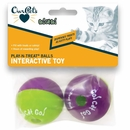 OurPets Go! Cat Go! Play-N-Treat Ball (2 pack)
