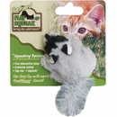 OurPets Play-N-Squeak Backyard Friend Cat Toy - Raccoon
