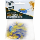 OurPets Play-N-Squeak Catty Whack Replacement Feathers