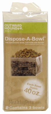 Outward Hound Dispose-A-Bowl – 3 PACK